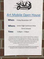 Art Mobile Open House from 5-7pm on 11/30/18
