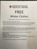MVMC Winter Clothing Drive