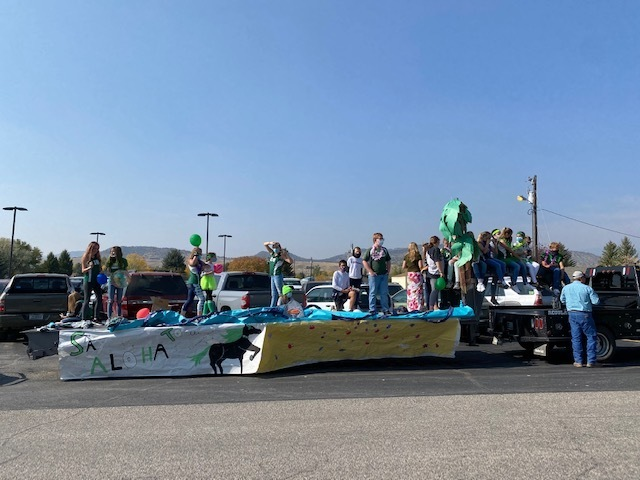7th Grade Float
