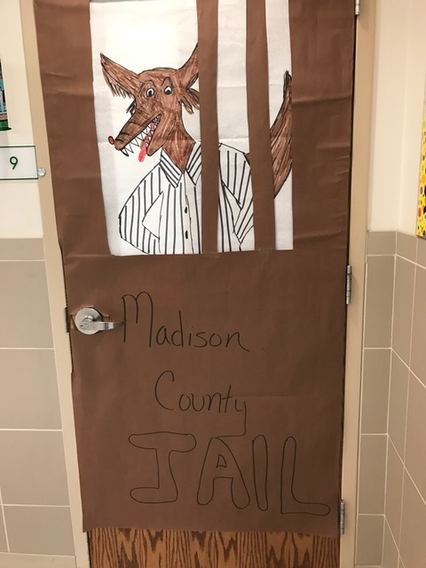the Resource Room door