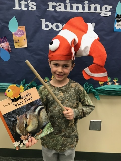 Fishing for a good book!